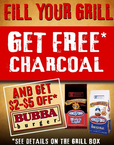 FILL YOUR GRILL Free Charcoual