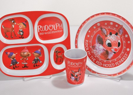 Rudolph Kids Melamine Group 1